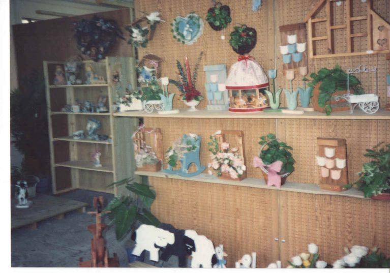 More craft shelves